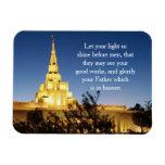LDS Temple Magnet