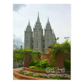 LDS Temple, Salt Lake City, Utah Postcard
