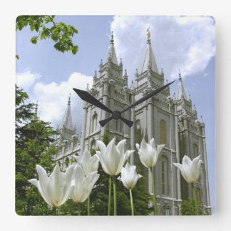 LDS Temple Square Wall Clock