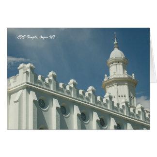 LDS Temple, St. George Utah Card