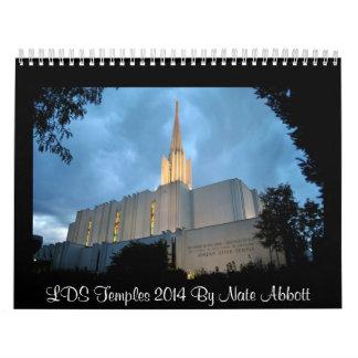 LDS Temples 2014 Calendar