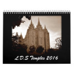 LDS Temples 2016 Calendar
