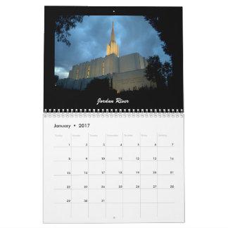 LDS Temples 2017 Calendar