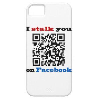 Le acecho en el código de Facebook QR Funda Para iPhone SE/5/5s