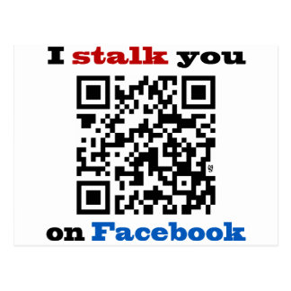 Le acecho en el código de Facebook QR Postal