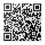 Le acecho en Facebook - QR sin texto Azulejos