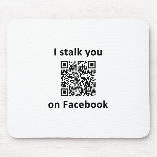 Le acecho en Facebook Tapetes De Ratones