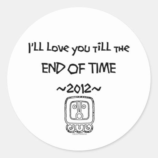 Le amaré hasta la HORA FINAL ~2012~ Etiqueta Redonda