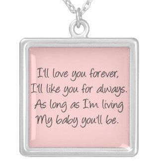Le amaré para siempre collares