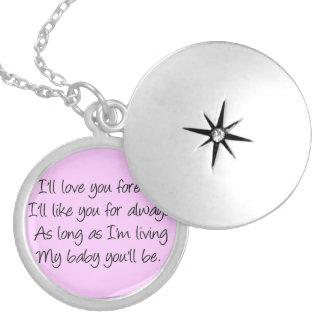 Le amaré para siempre los lockets medallones