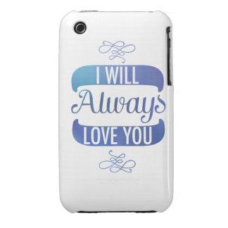Le amaré siempre iPhone 3 protector