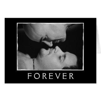 Le amaré siempre…. Para siempre Tarjeta De Felicitación