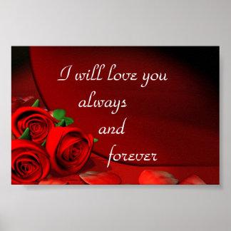 Le amaré siempre y para siempre póster