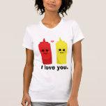 Le amo camisetas