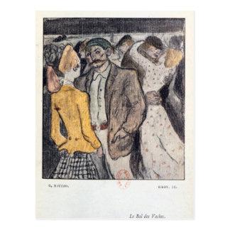 Le Bal de Vaches' Postcard