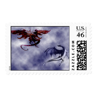 Le ballet des dragons - stamps