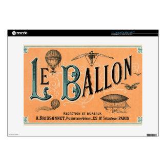 "Le Ballon Decals For 15"" Laptops"