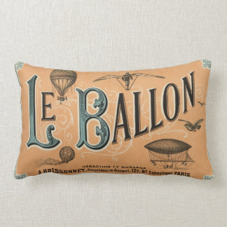Le Ballon - diario aeronáutico francés 1883 Cojín