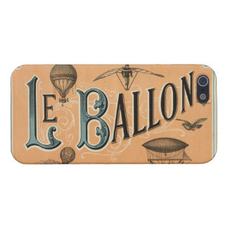 Le Ballon - French aeronautical journal 1883 Case For iPhone SE/5/5s
