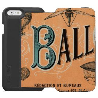 Le Ballon Funda Billetera Para iPhone 6 Watson