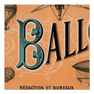Le Ballon Perfect Poster