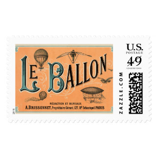 Le Ballon Postage Stamp