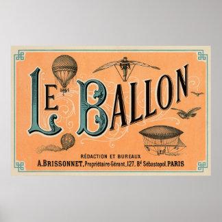 Le Ballon Póster