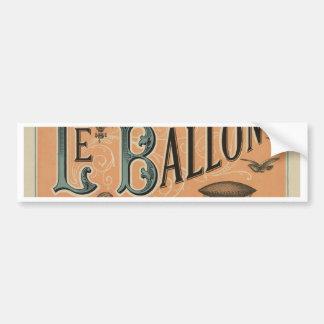Le Ballon Rédaction et Bureaux Bumper Sticker