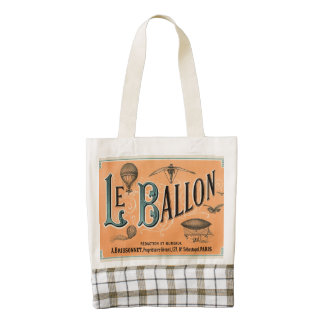 Le Ballon Zazzle HEART Tote Bag