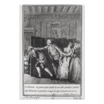 Le Baron chassa Candide du Chateau Poster
