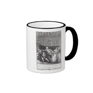Le Baron chassa Candide du Chateau Ringer Mug