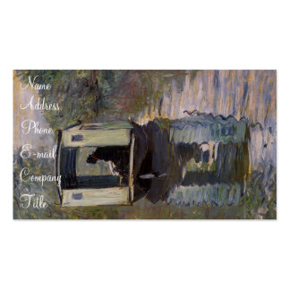 'Le Bateau-atelier' Double-Sided Standard Business Cards (Pack Of 100)