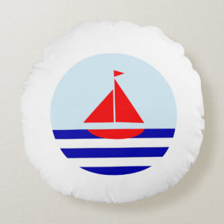 Le Bateau Chic Nautical Cushion