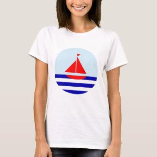 Le Bateau Nautical Print T-shirt