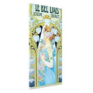 Le Bec Liais Detrone L'Electricite Canvas Print