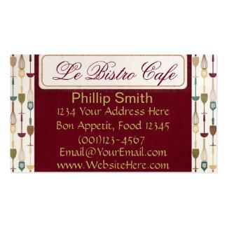 Le Bistro Cafe Business Cards