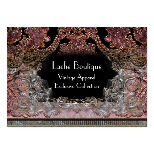 Le Boeme Maddy Unique Professional Large Business Cards (Pack Of 100)