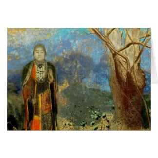 Le Bouddha (The Buddha) Greeting Card