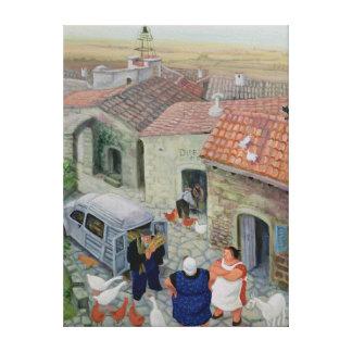 Le Boulanger Canvas Print