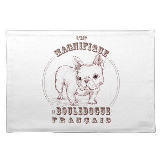 Le Bouledogue Francais Cloth Placemat