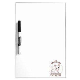 Le Bouledogue Francais Dry-Erase Board