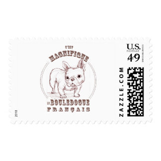 Le Bouledogue Francais Postage Stamps
