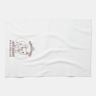 Le Bouledogue Francais Towels