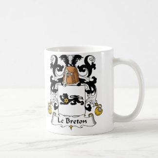 Le Breton Family Crest Coffee Mug