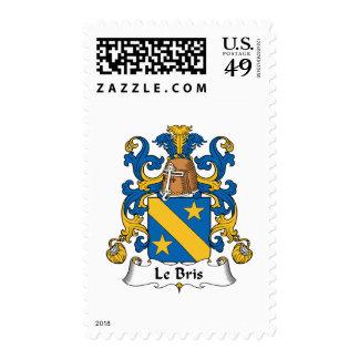 Le Bris Family Crest Stamp