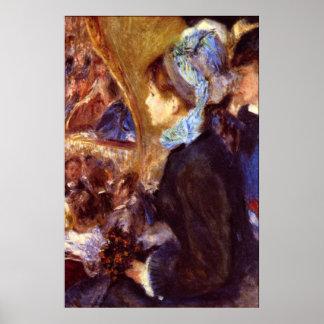 Le Cafe Concert by Pierre Renoir Print