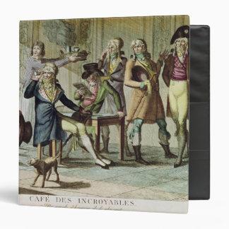 Le Cafe des Incroyables, 1797