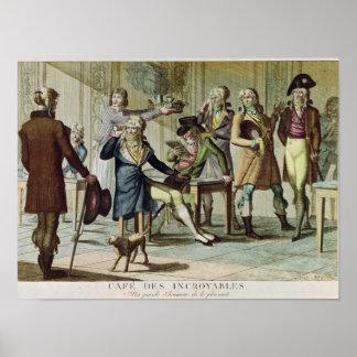 Le Cafe des Incroyables, 1797 Impresiones