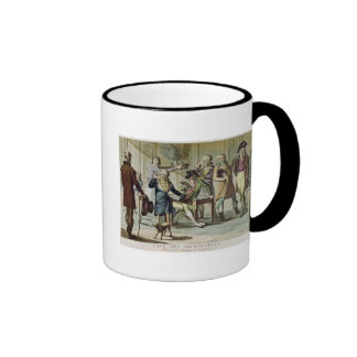 Le Cafe des Incroyables, 1797 Taza