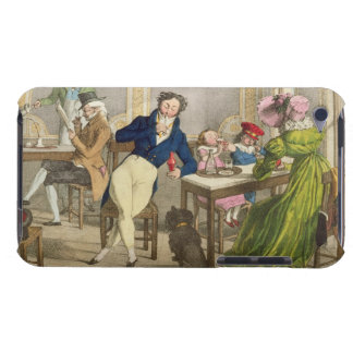 Le Cafe, pub. by Rodwell and Martin, 1820 (colour Barely There iPod Cover